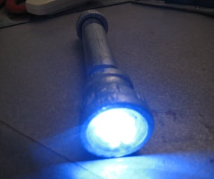 Gas Pipe Flashlight