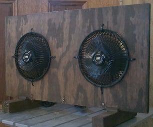 Homemade (High Velocity) Desktop Fan! (w/Dual DC Motors!) - Solar Powered! - Full Instr.