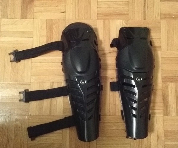 Upgraded Knee/Shin Pads Under $8 (Total Cost of Knee Pads + Upgrade Is $43.00 CDN)
