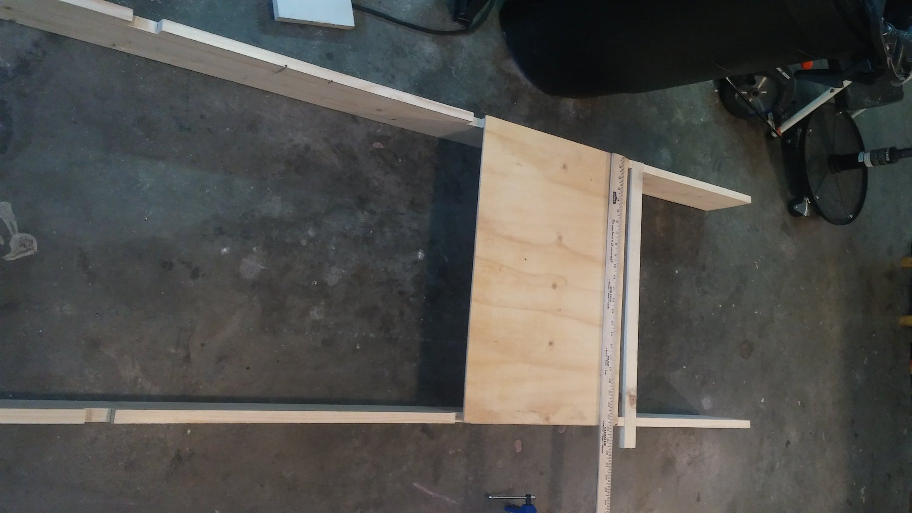 Making the Ball Rolling Surface Support Rack