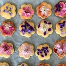 Flower Shortbread Cookies
