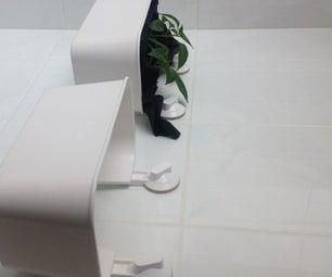 Tile Mounted Plant Pots (IKEA Hack)