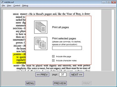 The Script Generator Software
