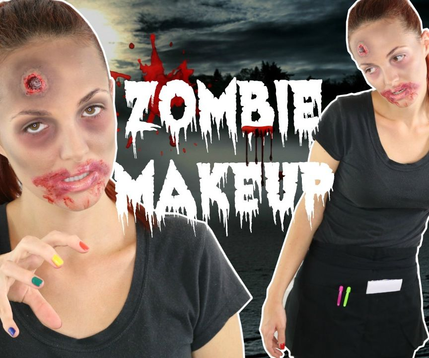 Injured Zombie Waitress Tutorial