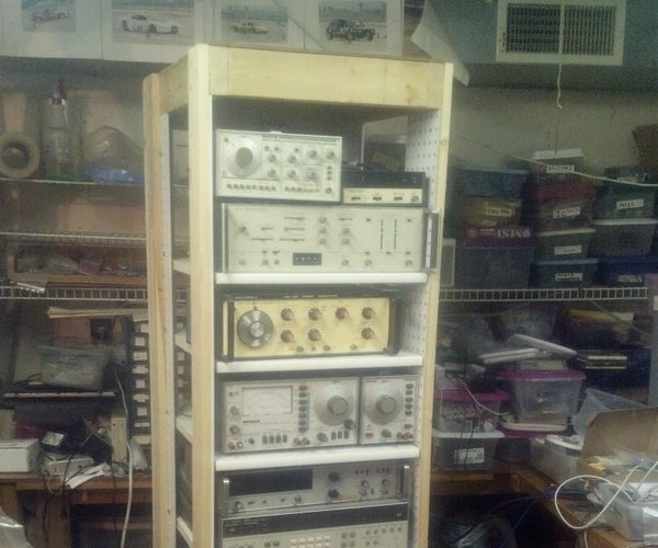 """19"""" Equipment Rack for Electronic Instruments"""