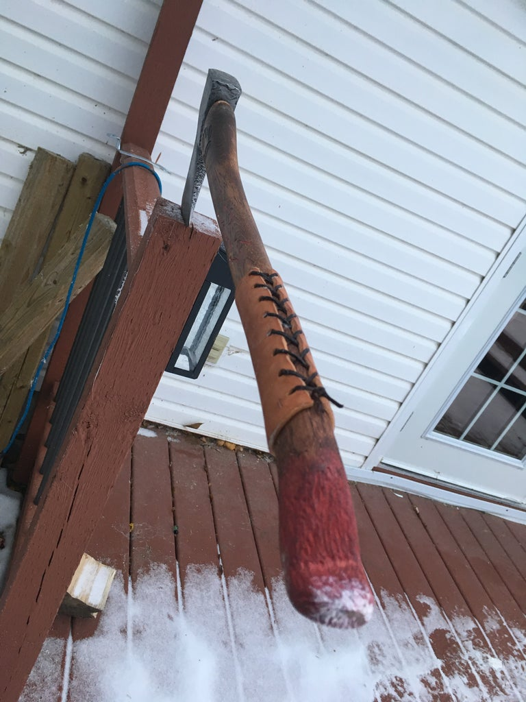Bring an Old Axe Back to Life. Making Your Own Battleaxe!!!