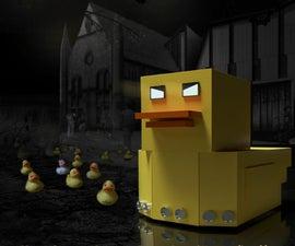 Da Duck(Auto-Following &Mood-Changing Robot)
