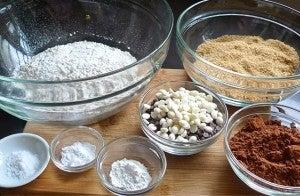 Measure All DRY Ingredients.