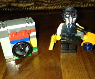 Lego Payday 2 Portable Drill