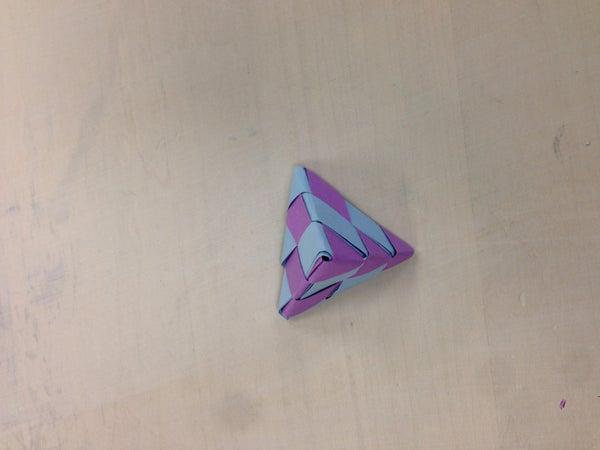 Woven Tetrahedron