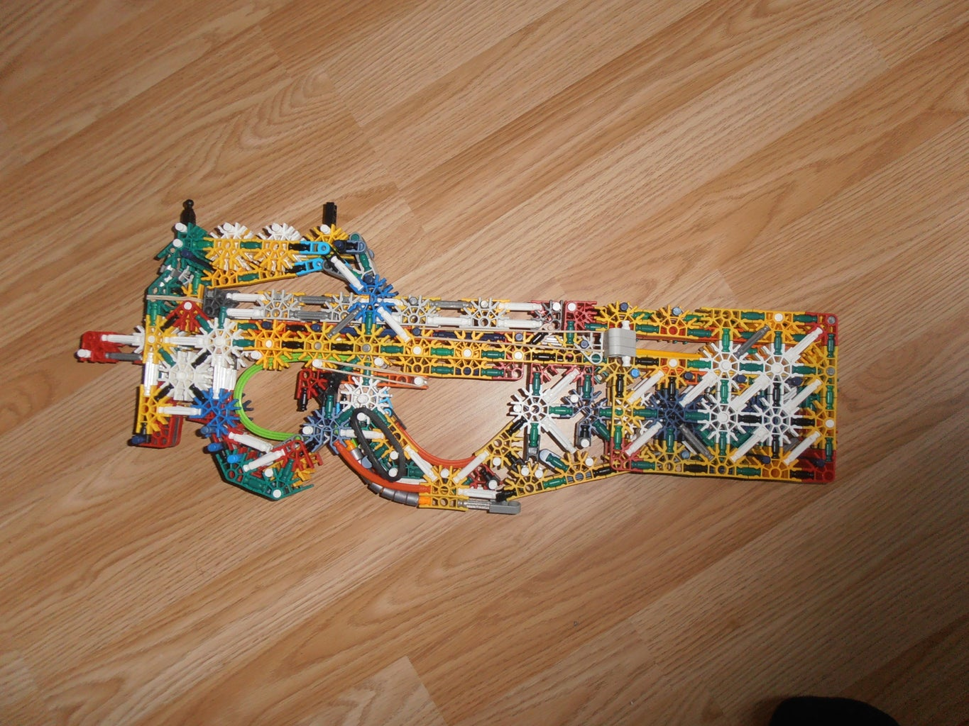 Some Failed or Unposted Knex Guns.