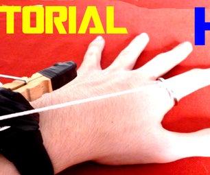 How to Make Gun Pistol Crossbow   Assassins Creed Unity