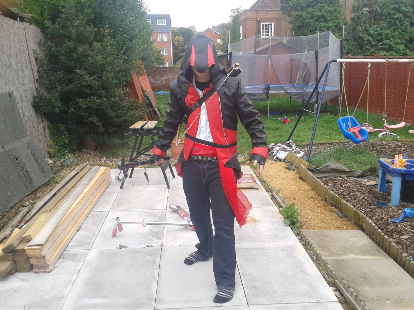 ACIII Assassin Cosplay (Largely Based Off of Connor Kenway)