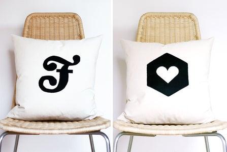 DIY: Appliqué Pillow
