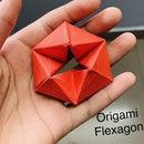 Never Ending Origami Flexagon