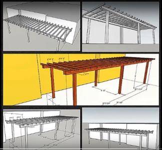 How to Build a Simple Backyard Pergola