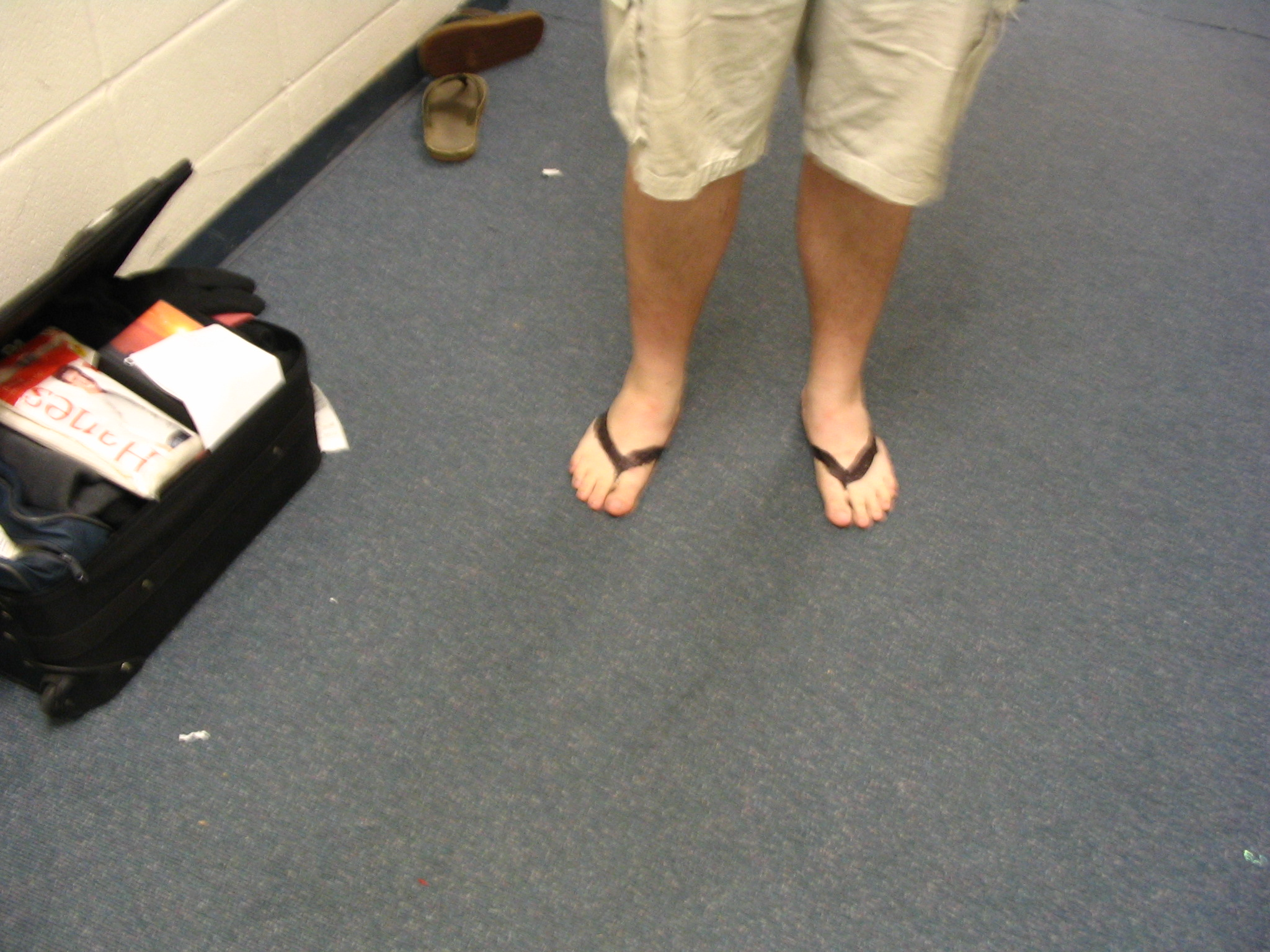 "Circumvent ""No shirt, no shoes, no service"" regulations with on-the-fly flipflops!"