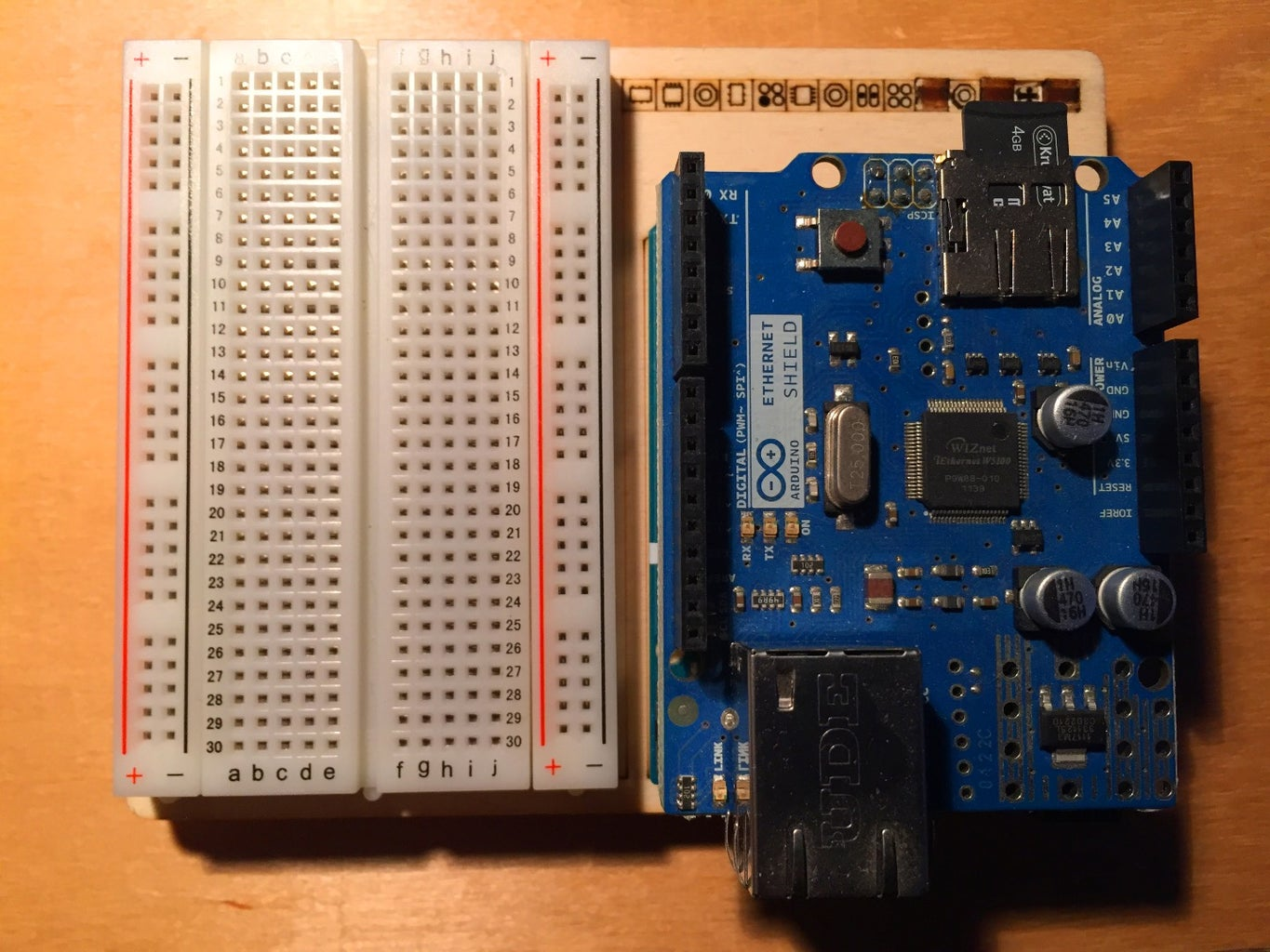 Hooking Up the Arduino