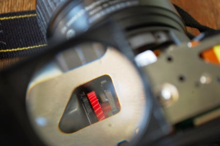A Closer View of the Gear Seen Through a Magnifying Glass