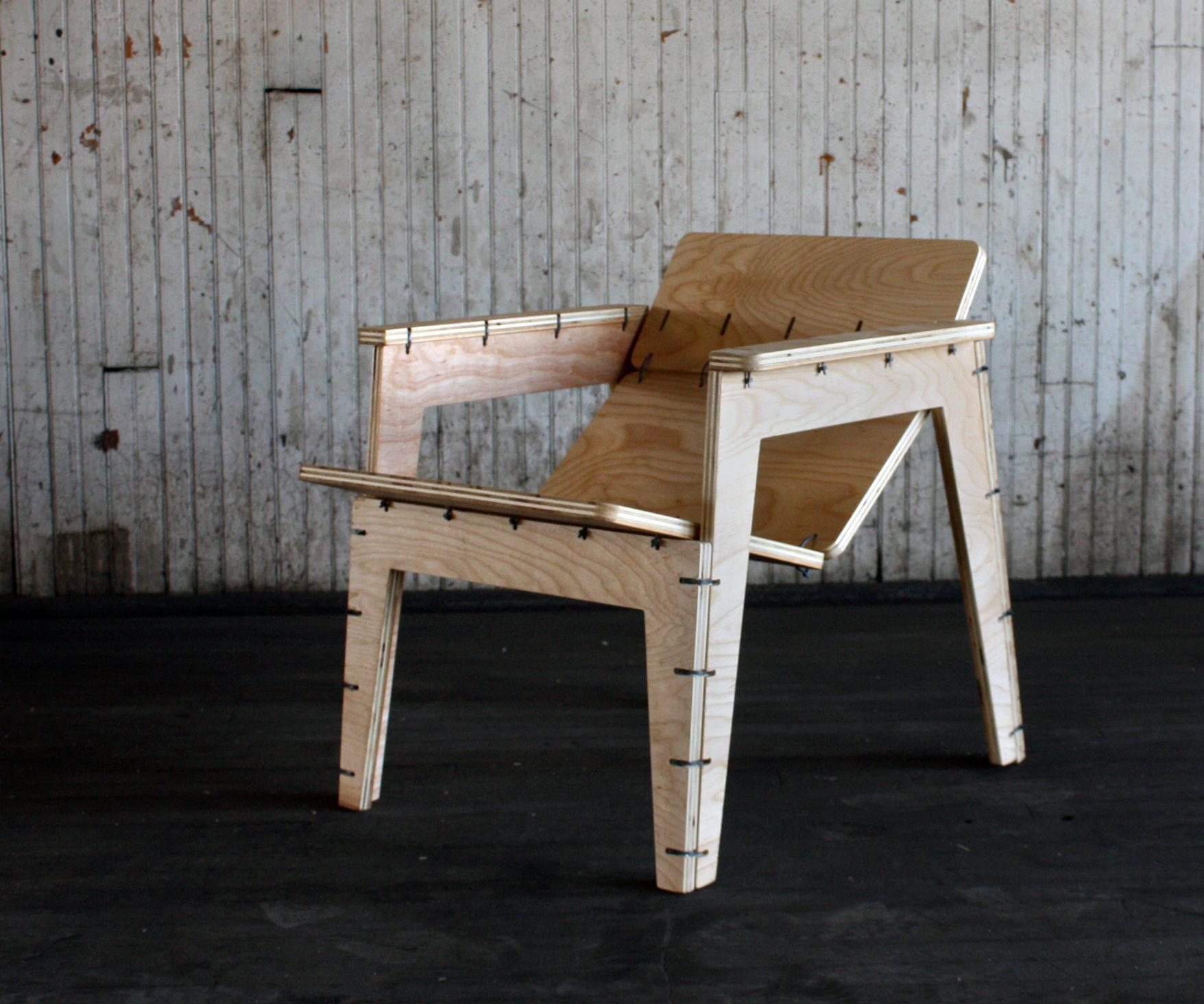 Zip Tie Lounge Chair