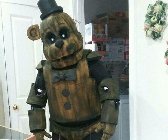 Phantom Freddy {FNAF3}