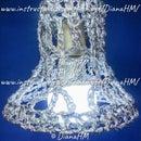 Tinfoil Crochet Lampshade