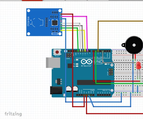 RFID Security System With Arduino