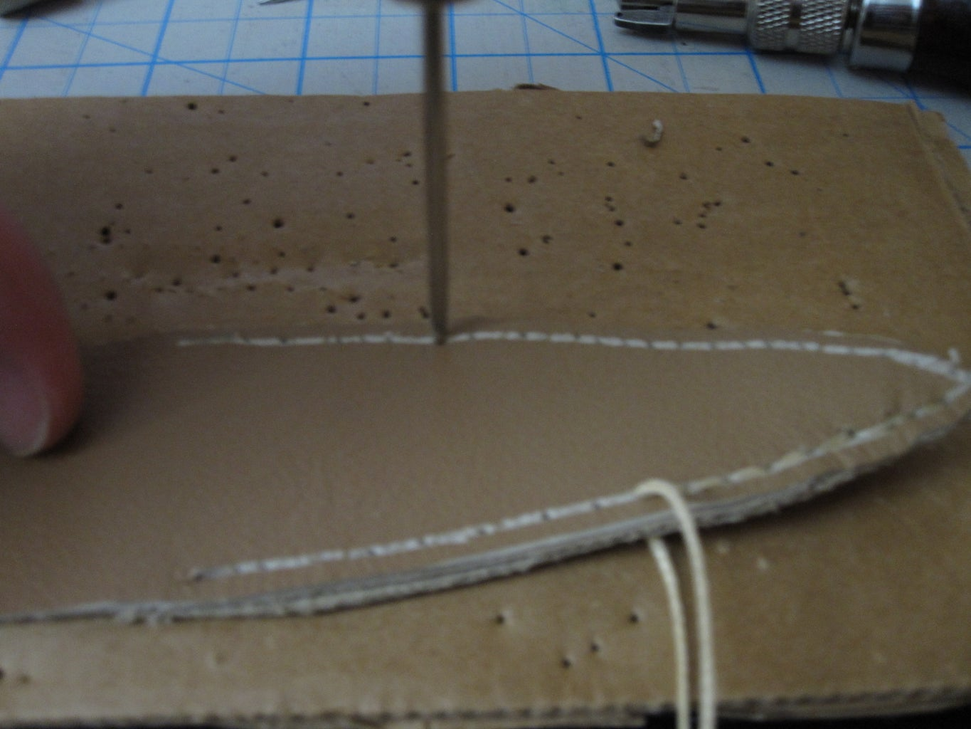 Grooving and Preparation for Stitching