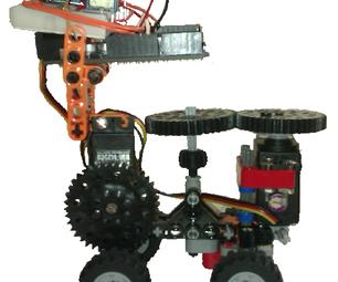 Robot Arduino 4x2 Scratch S4A Map