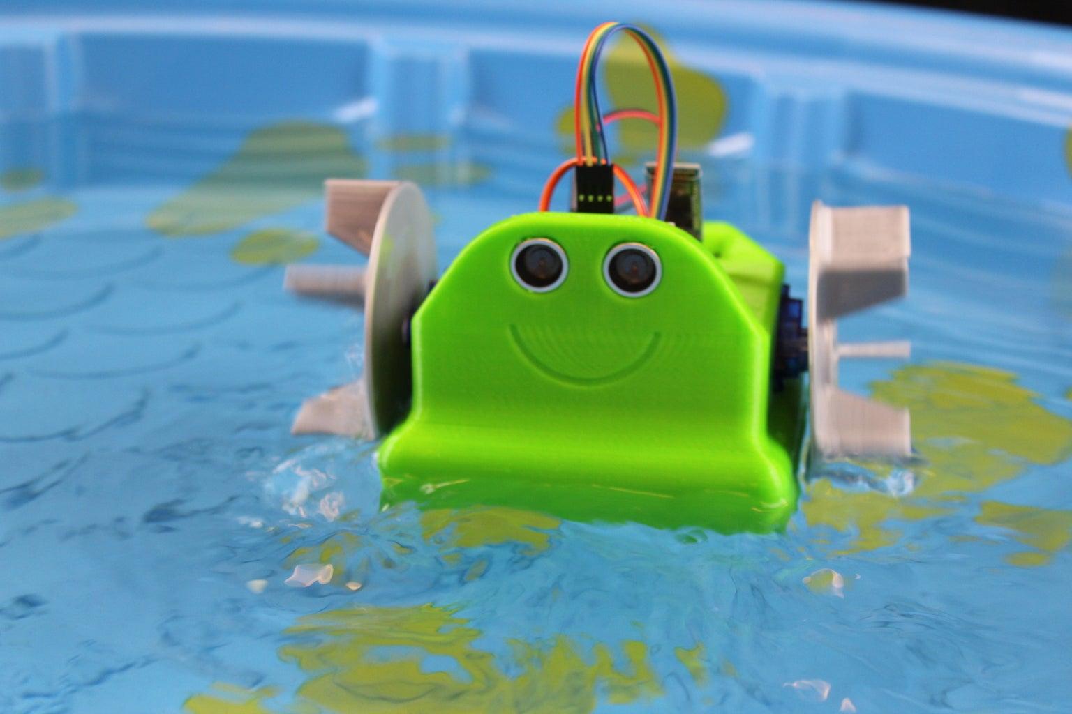 Waterbot: Arduino Robot Boat