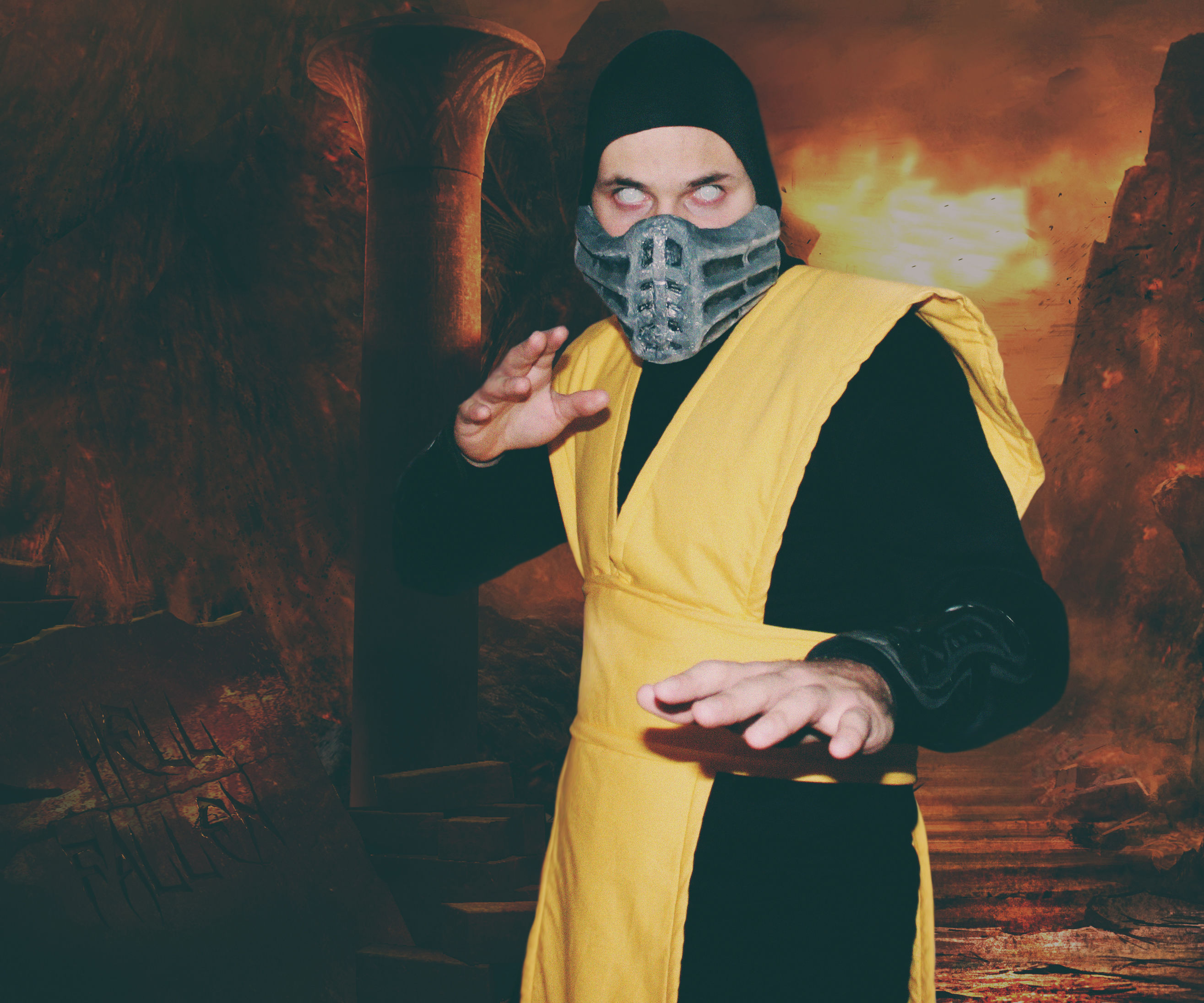 Scorpion - *Mortal Kombat* Costume Cosplay