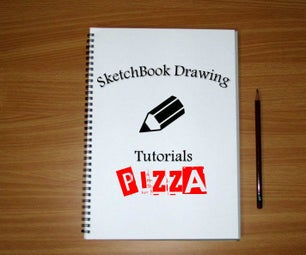 How to Draw an Easy Pizza Slice