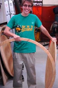 Cut Wooden Rings