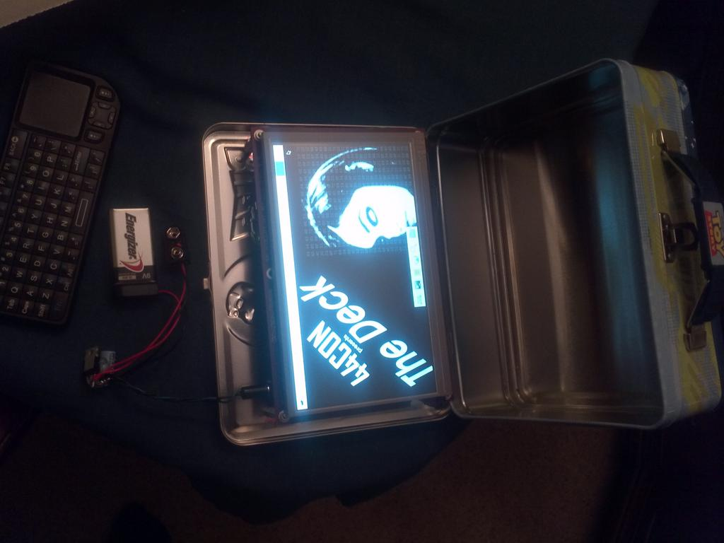 The Deck - Portable Penetration Testing and Forensics System