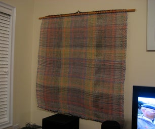 Woven Telephone Wire Wall Hanging