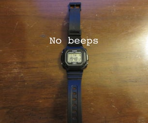 Silence Your Digital Watch for Stealthy Standardized Exam Taking