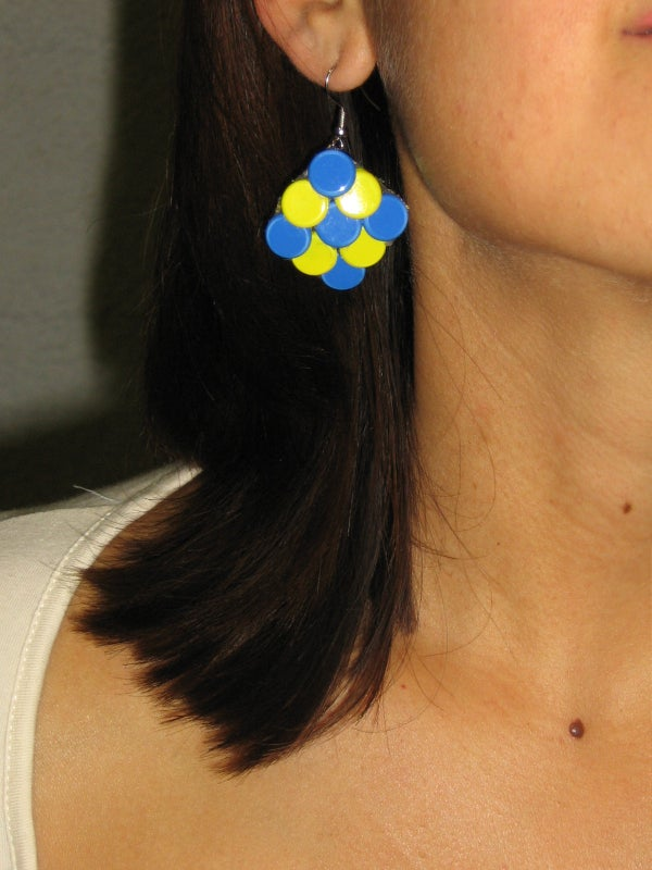 Fashion Earrings Under 15 Minutes!