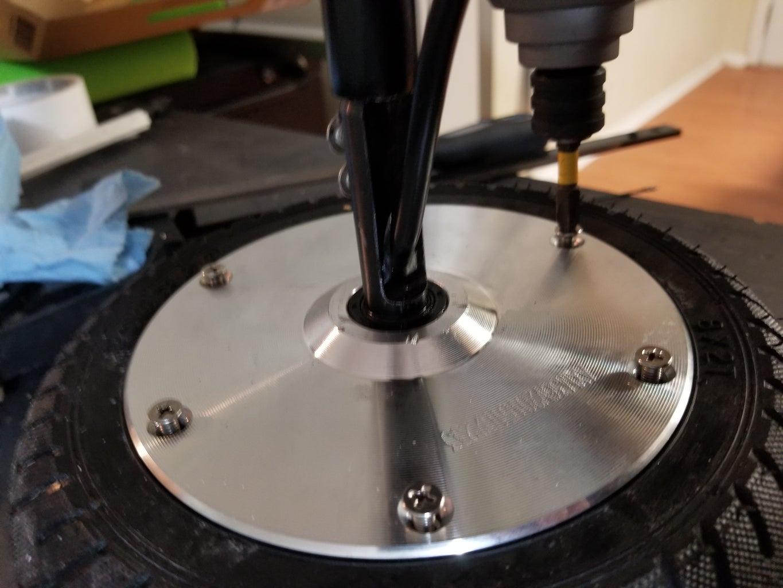 Finishing Up & Reinstalling Wheel