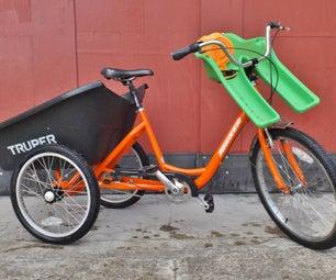 货物自行车/独轮车三轮车(Aka Suv带踏板)