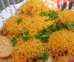 Sev Puri (Indian Snack)