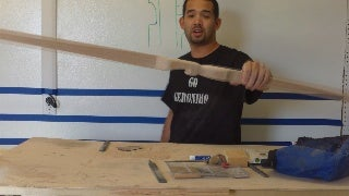 How to Build a Red Oak Longbow #7