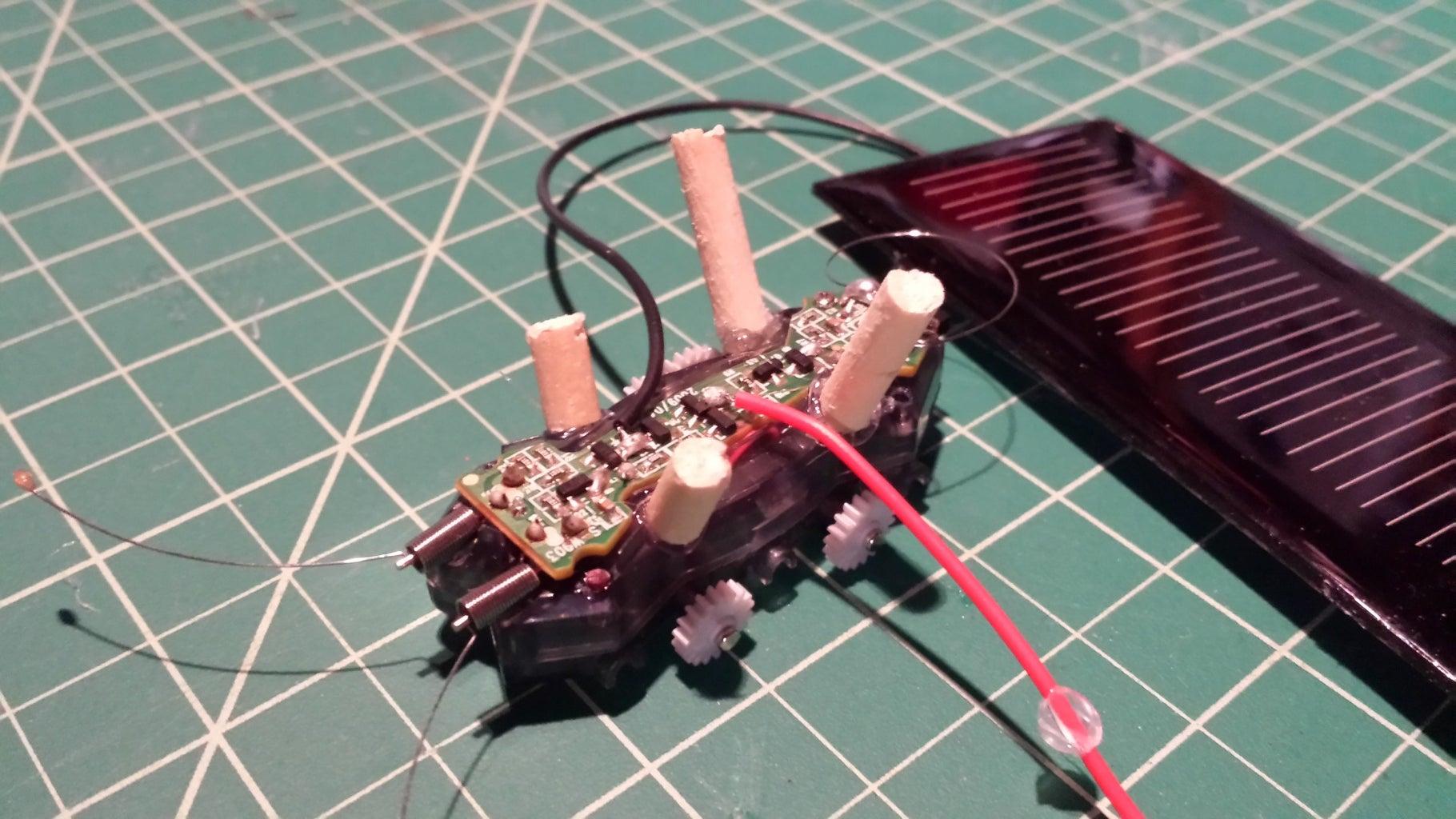 Small Solar Car:  Step 3:
