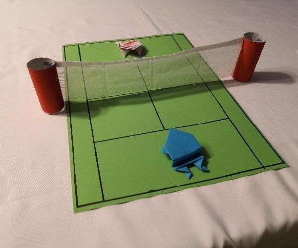 Frogs Playing Sports