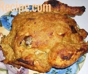 Grilled Chicken in Coconut Gravy