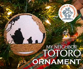 我的邻居Totoro装饰