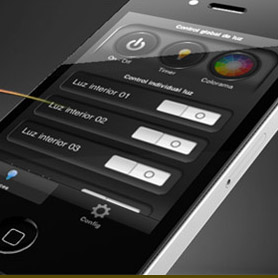 Arduino iPhone RGB-Led Strip & Cromalight