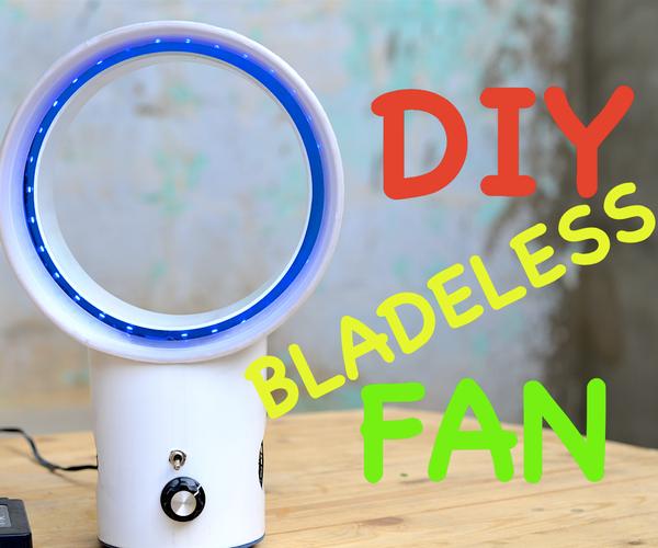 DIY Bladeless Fan From Scratch