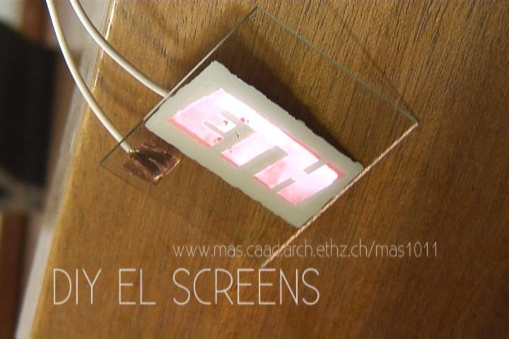 DIY EL screens