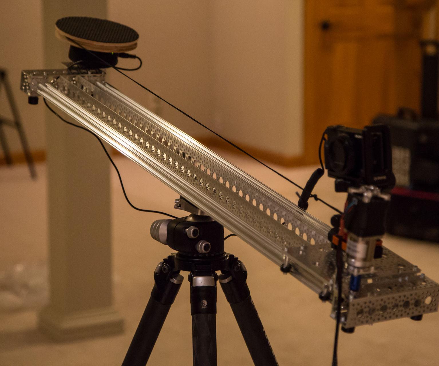 3ft DIY Actobotics Motorized Slider for Syrp Genie Mini:  Part II