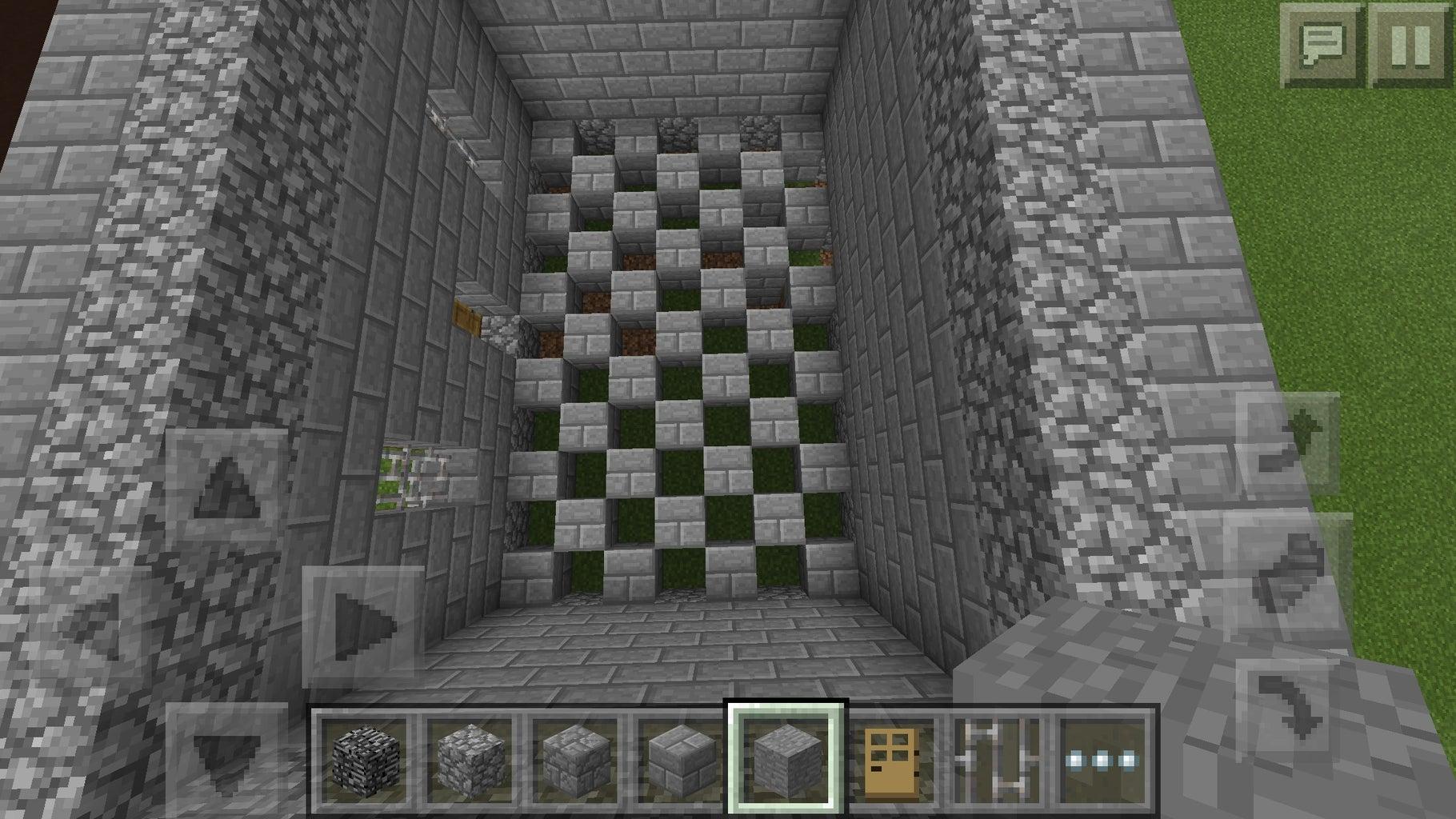 Checkered Floors!